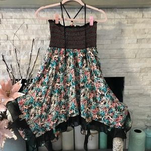 AMERICAN RAG ADORABLE FLOWERED SUMMER DRESS SIZE L